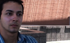 Christopher, 18, during an interview in Phoenix. Christopher struggled to survive in the United States after his mother was deported.